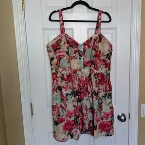 Jessica Simpson Floral Pattern Sundress